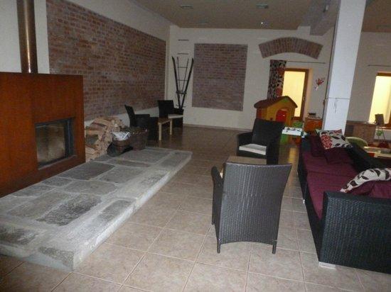 Penzion Solnice: lounge area