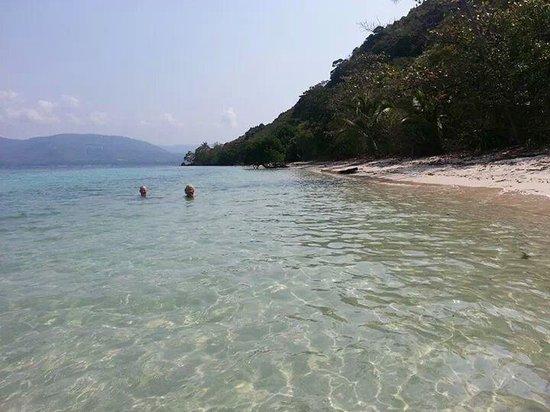 Koh Tan : white sand beach