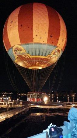 Disney Springs : Hot air balloon ride