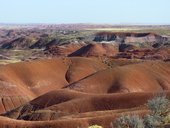 Painted Desert : one of the many scenic views