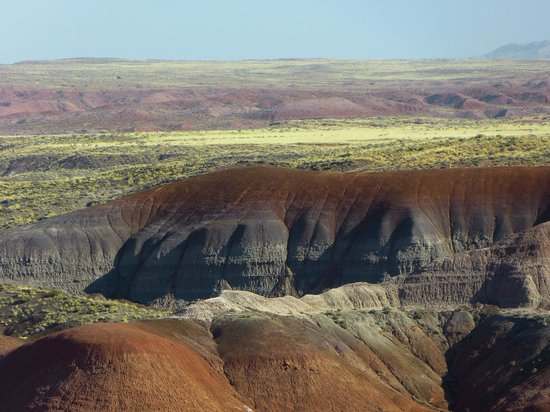 Painted Desert : you can see for many miles