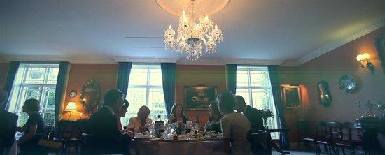 Rosleague Manor Hotel: Dining Room
