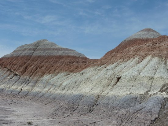 the rock layers show you why it is called the Painted Desert