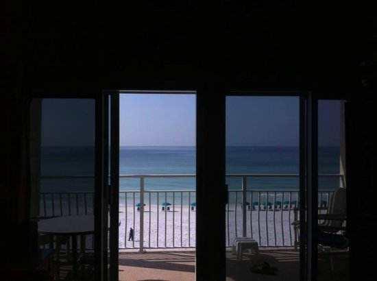 Crystal Sands Condominiums : Balcony view from kitchen!!!