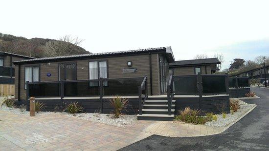 Mullion Cove Lodge Park: The lodge (Number 6)