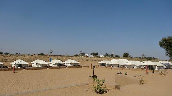Safari Camp Osian: Vue d'ensemble