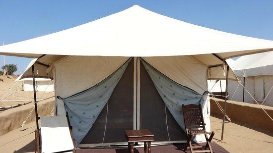 Safari Camp Osian: Toute montée ...