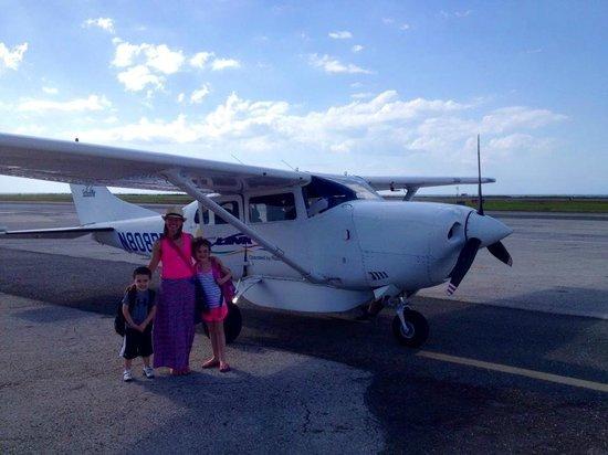 Beaches Ocho Rios Resort & Golf Club : Flight from Montego Bay to Ocho Rios