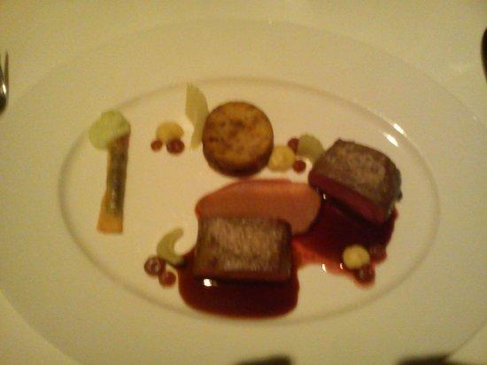 Grischa - DAS Hotel Davos : Well cooked Venison