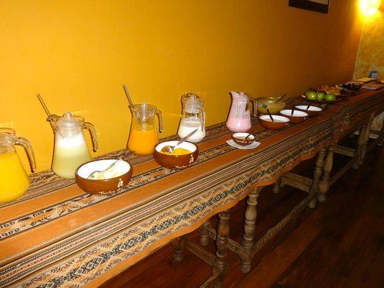 Tambo del Arriero Hotel Boutique: Breakfast