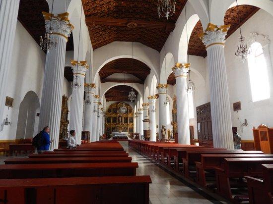 Catedral de San Cristobal de Las Casas: interior