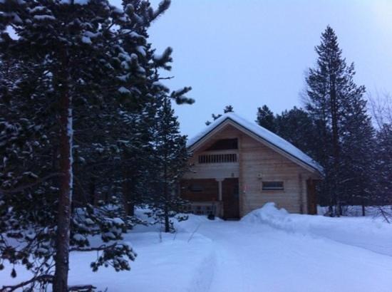 Ounasloma Luxury Cabins: chalet 8. homely, warm accommodation.