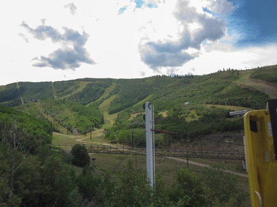 Park City Mountain Resort: Up the mountain