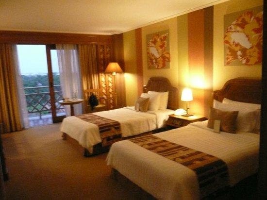 Sampran Riverside: our room