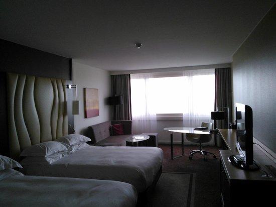 Hilton Vienna Danube Waterfront: Quarto