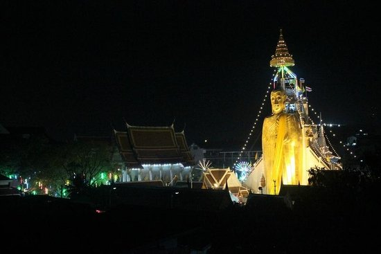 Phranakorn-Nornlen Hotel : View from the restaurant upstairs