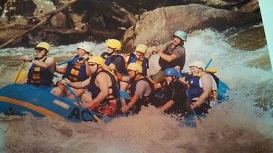 ACE Adventure Resort - Day Tours: New River rafting summer 2013