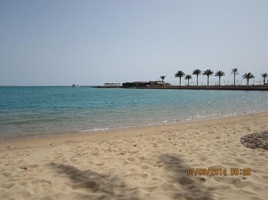 Mövenpick Resort Hurghada: na praia