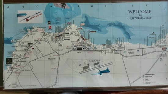 Tia Heights Makadi Bay: План Хургады