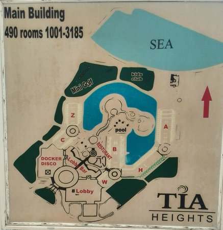 Tia Heights Makadi Bay: План отеля