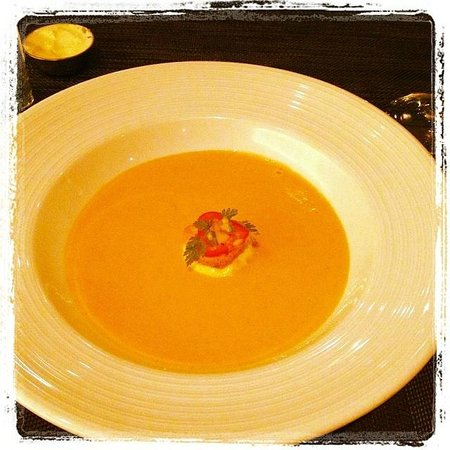 Blue Fin : The Lobster bisque