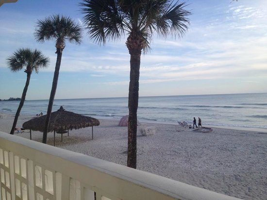 Sandcastle Resort at Lido Beach: view from our room