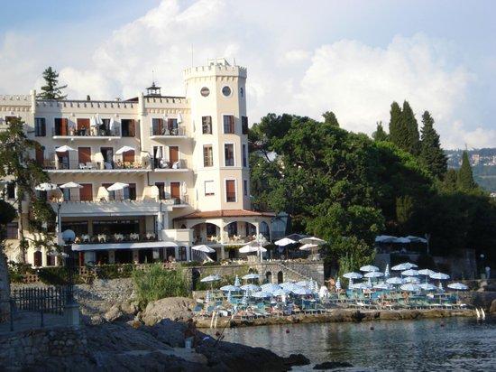 Hotel Miramar: Front Villa Neptun