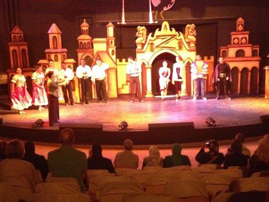 Club Magic Life Sharm el Sheikh Imperial: Evening show in the amphiteatre