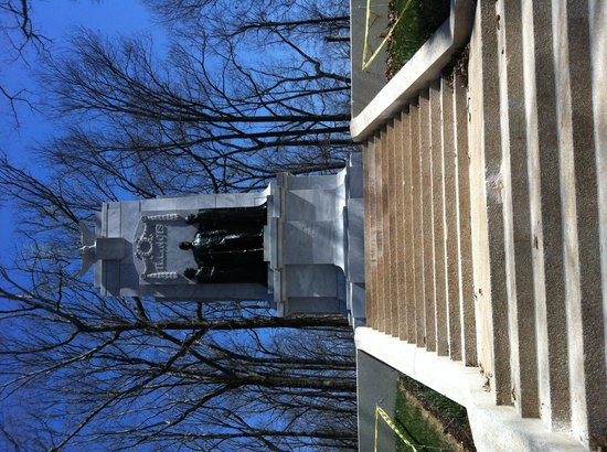 Kennesaw Mountain National Battlefield Park: Recently cleaned Illinois Monument