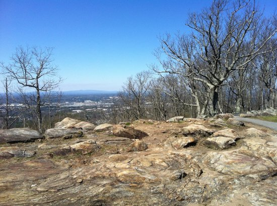 Kennesaw Mountain National Battlefield Park: Atop Kennesaw Mountain
