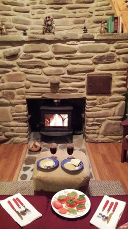 Wellnesste Lodge: Our feast in Thoreau