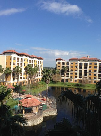 Floridays Resort Orlando: View from our balcony