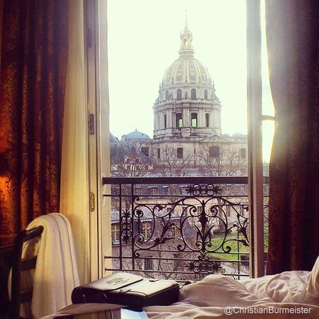 Hotel de l'Empereur : Fantastic view from the bed