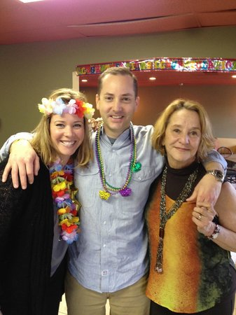 Slice Pizzeria: Mom and two wonderful children