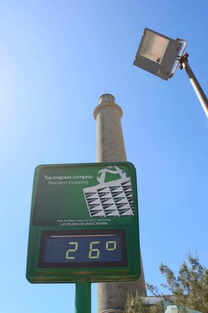 ClubHotel Riu Gran Canaria: La température en hivers