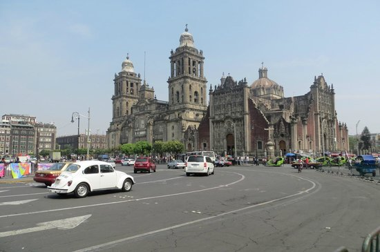 Zocalo: Première visite à Mexico