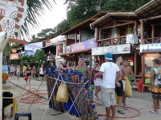 Karapitangui Praia Hotel: Centrinho