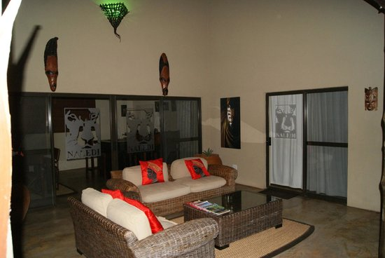 Naledi Game Lodges : Our private sitting area