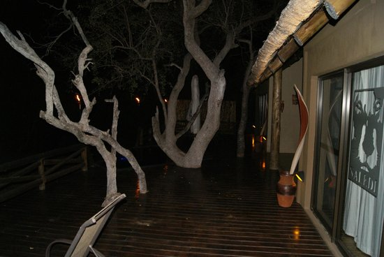 Naledi Game Lodges : Our terrace
