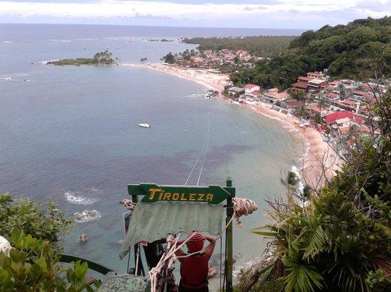Karapitangui Praia Hotel: Tiroleza