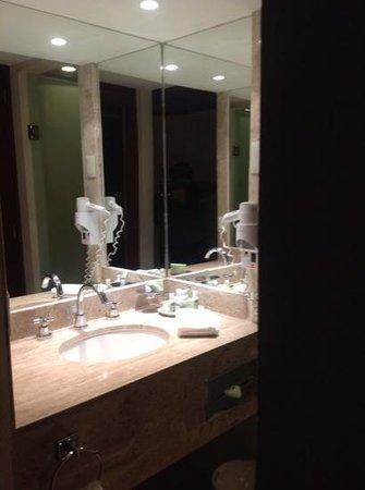 Camino Real Aeropuerto: spotless bathroom