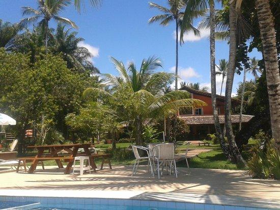 Karapitangui Praia Hotel: Jardins