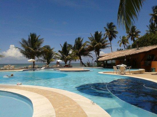 Karapitangui Praia Hotel: Piscina