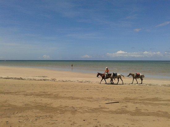 Karapitangui Praia Hotel: Praia