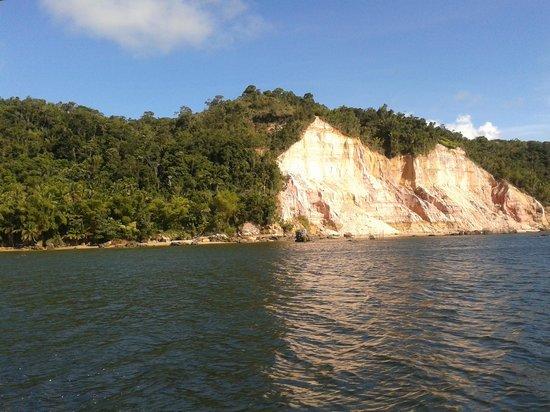 Karapitangui Praia Hotel: Vista da chegada da ilha