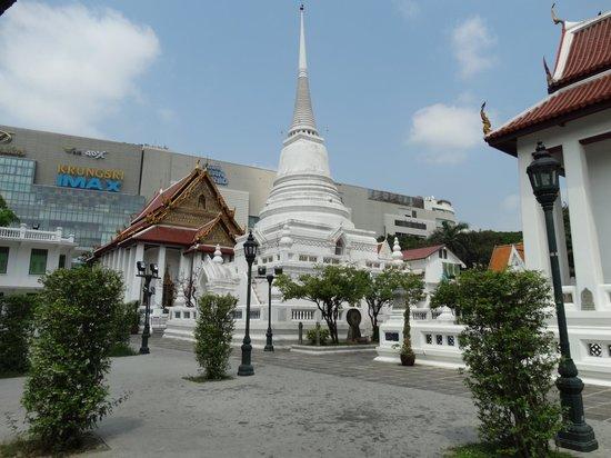 Wat Pathum Wanaram. - Picture of Wat Pathum Wanaram ...