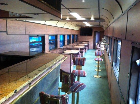 Premier Classe Train : Smoking Lounge