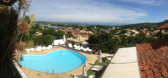Buzios Arambare Hotel: Vista desde la habitación