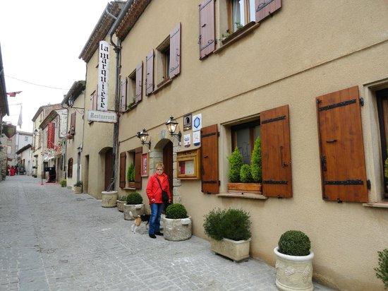 Restaurant La Marquiere: Entrée du restaurant