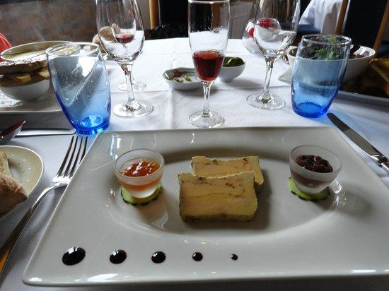 Restaurant La Marquiere: Foie gras et ......